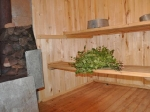 Die neugebaute Banja ( russische Sauna) und dann...