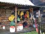 Hütte in Patom