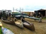 Die Boote werden aufgeladen…