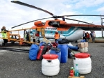 …Platz für Boote, Proviant und Ausrüstung…